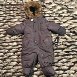 NWT R 1881 Baby Snow Overall Size 6-9 Months